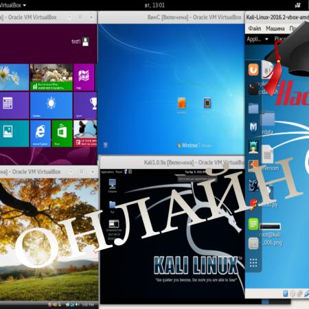 Виртуализация и Kali Linux за Начинаещи – Онлайн